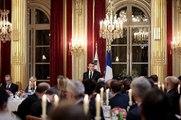 Toast du Président de la République, Emmanuel Macron, lors du dîner d'Etat en l'honneur du Président de la République de Corée, Moon Jae-in