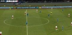 Iceland  0  -  1 Switzerland   15/10/2018  Seferovic H. (Xhaka G.), Switzerland  Super Amazing Goal 52' HD Full Screen EUROPE: UEFA Nations League - League A - Round 4 .