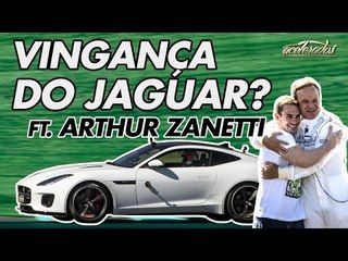 JAGUAR F-TYPE 2.0 TAMBÉM TOMA DO GOLF GTI NA VOLTA RÁPIDA? - VR C/ RUBINHO #154 FT. ARTHUR ZANETTI