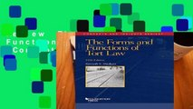 Review  The Forms and Functions of Tort Law (Concepts and Insights)