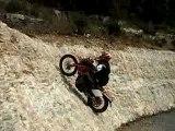 moto enduro belle montée