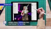 Adobe Finally Bringing Full Photoshop to the iPad