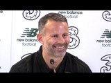 Ryan Giggs Pre-Match Press Conference - Ireland v Wales - UEFA Nations League