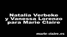 Natalia Verbeke y Vanessa Lorenzo para Marie Claire