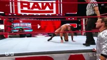 Seth Rollins vs. Drew McIntyre & Dean Ambrose Saved Seth rollins- WWE World Cup Qualifying Match: Raw, Oct. 15, 2018