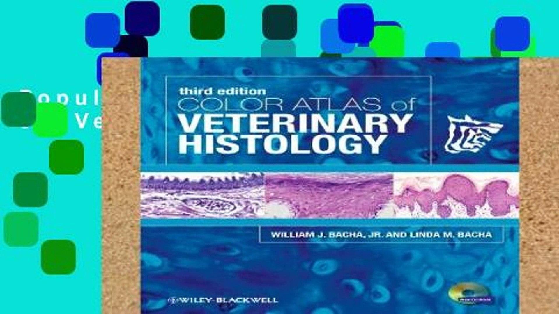 Popular Color Atlas of Veterinary Histology