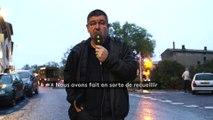 Le maire de Trèbes s'exprime sur les lieux mis en place pour les sinistrés
