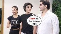 Malaika Arora, Arbaaz Khan Karisma Kapoor,Amrita Arora At Launch DIVA Yoga
