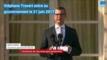 Stéphane Travert prend la porte du gouvernement d'Edouard Philippe