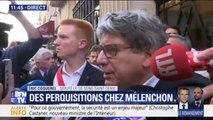 """Coquerel accuse """"le pouvoir politique"""" d'être derrière les perquisitions menées au siège de La France insoumise et chez Mélenchon"""