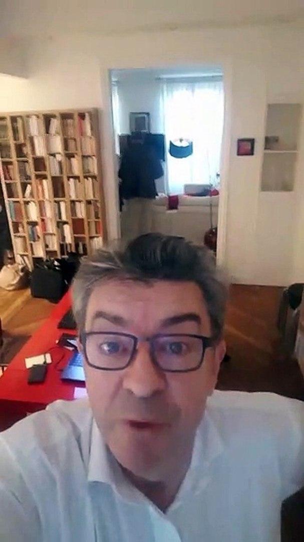 L'auto vidéo de Jean Luc Mélanchon pendant la perquisition de son domicile - 16 oct 2018