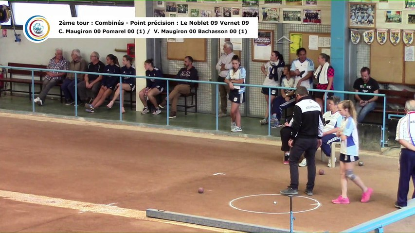 Second tour intégral, France Club Elite 1 F, J1, Fontaine contre Romans, saison 2018/2019