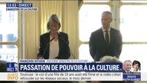 """Françoise Nyssen regrette de """"ne pas avoir pu faire profiter le gouvernement de son expérience d'éditrice"""""""