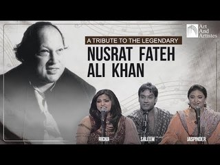 Nusrat Fateh Ali Khan Tribute Mashup | Richa Sharma, Master Saleem, Jaspinder Narula | Best Songs