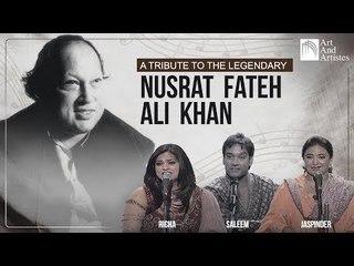 Nusrat Fateh Ali Khan Tribute Mashup   Richa Sharma, Master Saleem, Jaspinder Narula   Best Songs