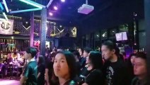 """Rec On, Mongolian metal band at """"The Fallen City"""" album release concert of Growl of Clown"""