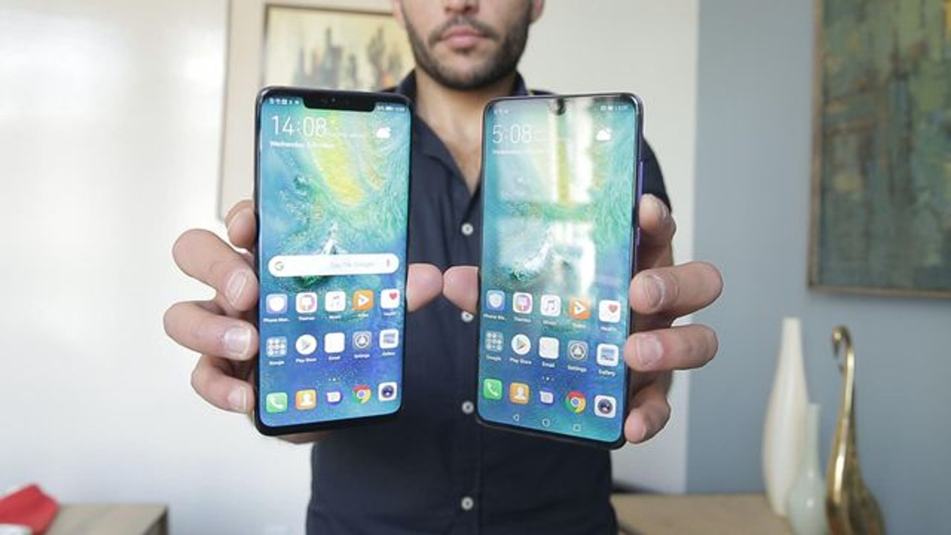 Huawei Mate 20 Pro phone has a ton of crazy extras