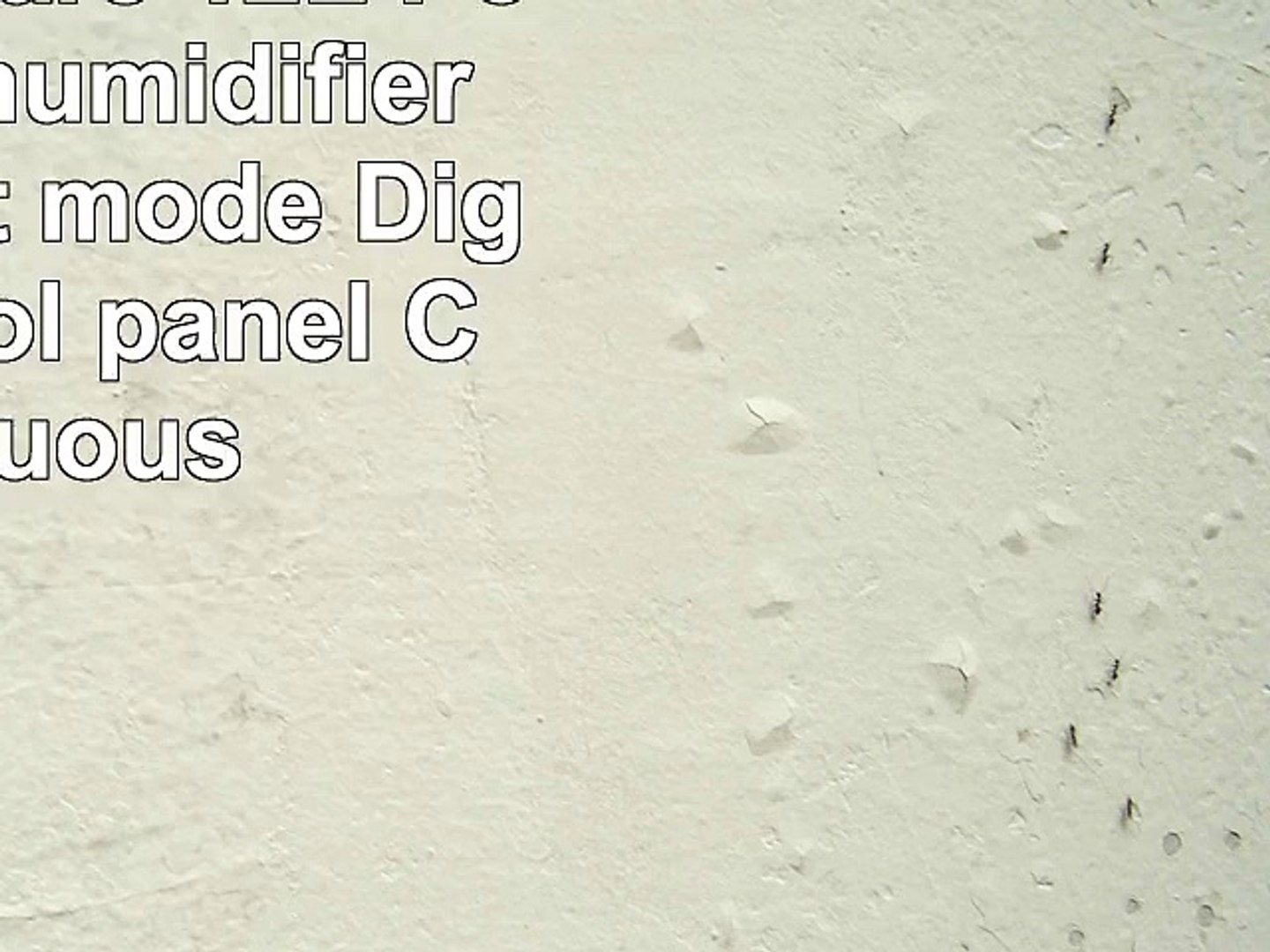 Inventor Care 12L Portable Dehumidifier with Silent mode Digital control panel Continuous