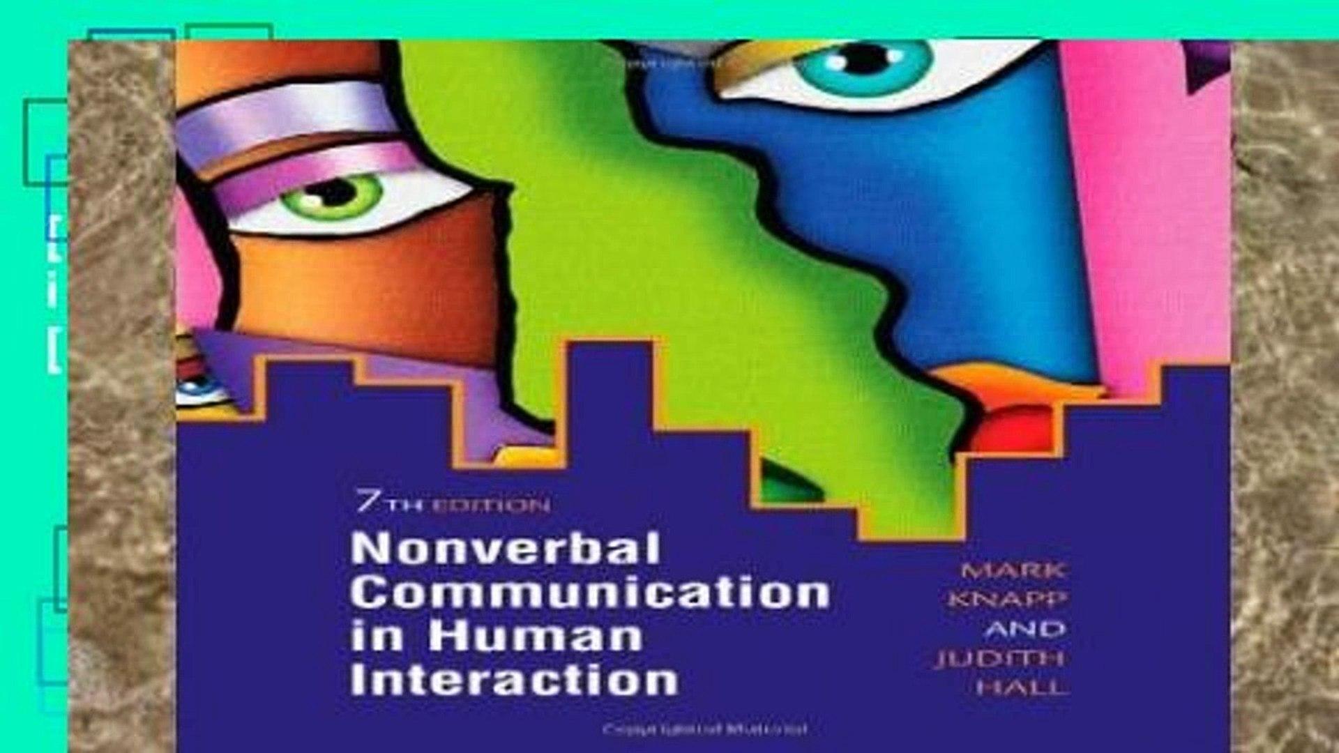 Nonverbal Communication As An Intercultural Communication
