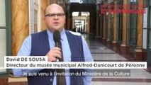 """Journée professionnelle """"La stratégie numérique dans les musées"""" - L'exemple du musée Alfred-Danicourt de Péronne"""