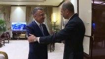Cumhurbaşkanı Yardımcısı Oktay, KKTC heyetini kabul etti - ANKARA