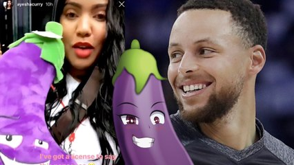 Ayesha Curry BEGS Steph Curry For His Eggplant And His Reaction is Priceless