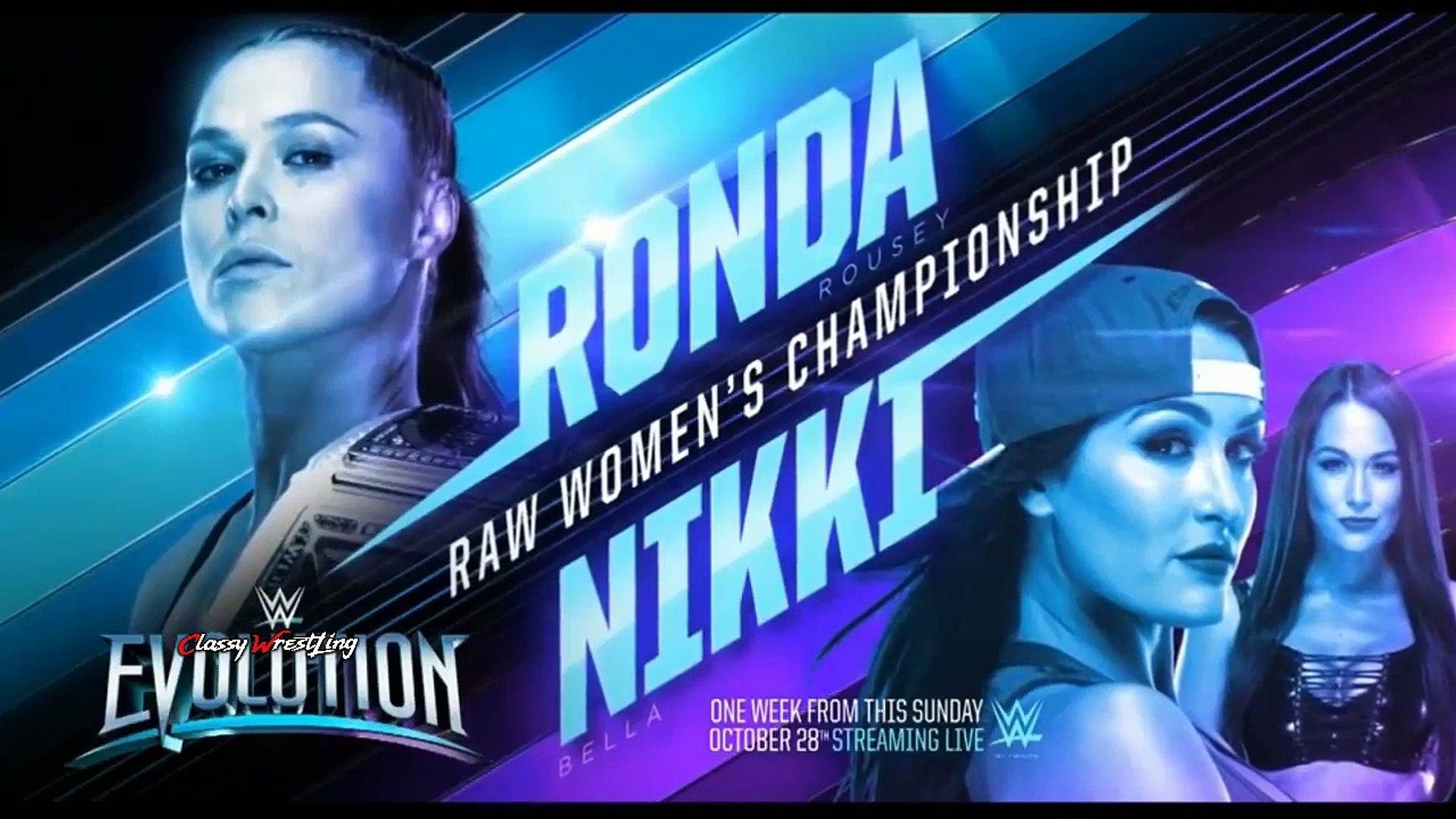 WWE RAW Highlights 15th October 2018 HD : WWE Monday Night Raw 10/15/2018 Highlights HD