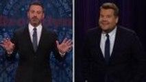 "Jimmy Kimmel & James Corden Respond to Trump's ""The Republican Club"" Portrait | THR News"