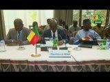 RTB/Ouverture des travaux  sur la lutte contre le terroriste des ministres de la défense, de la sécurité et des affaires étrangères du Burkina Faso, du Benin, du Niger et du Togo