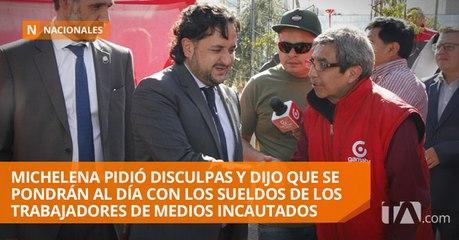 Indignación en medios incautados por declaraciones de Andrés Michelena