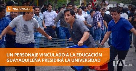 La Universidad de Guayaquil finalmente fue intervenida