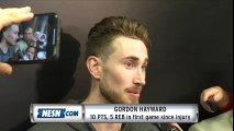 Gordon Hayward reacts to first game back since devastating injury