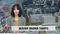After exceeding safeguard quota, washing machines imported to U.S. face 50 percent tariffs