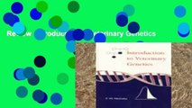 Review  Introduction to Veterinary Genetics