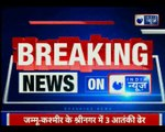 J&K: Three terrorists have been eliminated in encounter in Srinagar, Policeman dies
