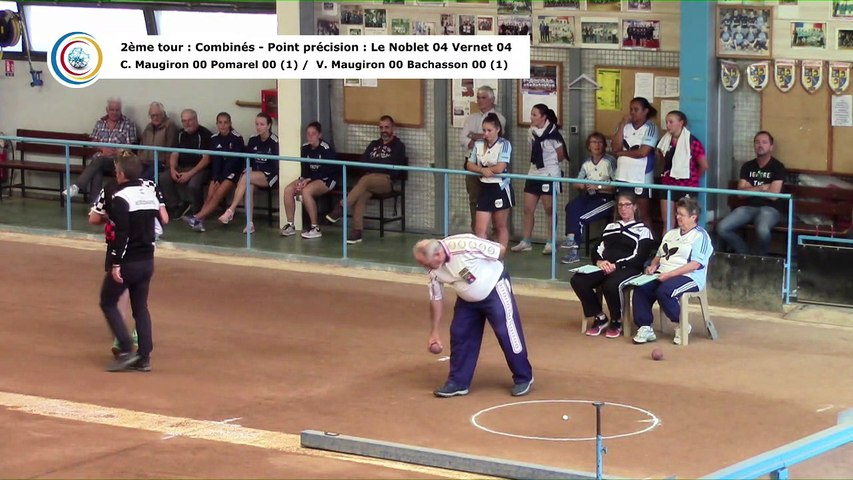Second tour, point de précision, France Club Elite 1 F, J1, Fontaine contre Romans, saison 2018/2019