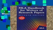 Best product  MLA Handbook for Writers of Research Papers (Mla Handbook for Writers of Research