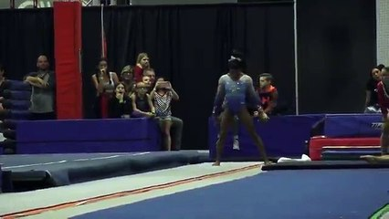 Oh. My. Goodness. 16.000 for @Simone_Biles at World Selection Camp.