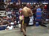 Alan (Tiger Muay Thai) scores 1st round Muay Thai KO