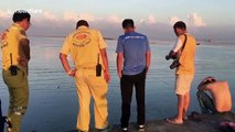 'Drunk' Thai man rescued from sinking mud after falling off pier