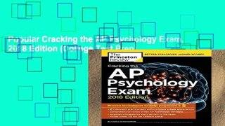 Popular Cracking the AP Psychology Exam, 2018 Edition (College Test Prep)
