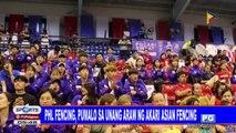 PHL fencing, pumalo sa unang araw ng Akari Asian Fencing