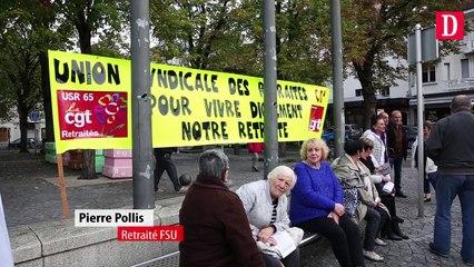 Les retraités en colère descendent dans la rue