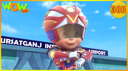 Vir The Robot Boy | Invisible Power Attack| Action Cartoon for Kids | Wow Kidz