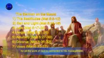 """The Words of the Returned Lord Jesus """"Man Can Only Be Saved Amidst the Management of God"""""""