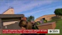 USA: Atterrissage d'urgence pour l'avion de la première dame Mélania Trump après de la fumée dans l'appareil
