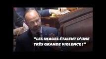 """Edouard Philippe dénonce des images """"d'une très grande violence"""" au QG de la France Insoumise"""