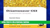 F.R.E.E [D.O.W.N.L.O.A.D] Adobe Dreamweaver CS3 Hands-On Training [E.P.U.B]