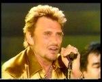 "Johnny Hallyday ""Le bon temps du rock'n'roll"" Tour Eiffel 2000"