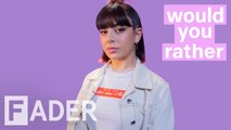 Charli XCX debates Titanic, Britney Spears, and more '90s favorites | 'Would You Rather' Season 1 Episode 8